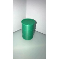 1:14 Scale 205 Ltr Green Drum