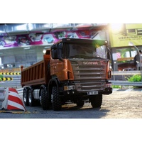 1/14 Scania 8 x 8 hydraulic tipper